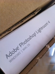 lightroom 4 box